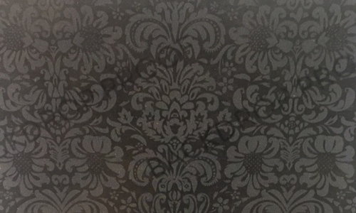 Black & Grey Damask