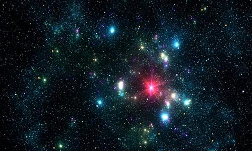 Cosmic Night Lights