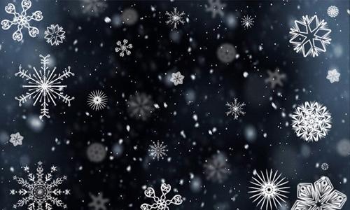 Dark Snowflakes