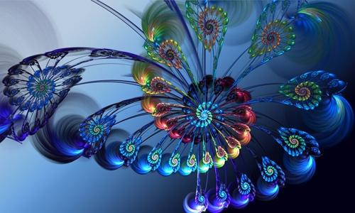Peacock Spiral